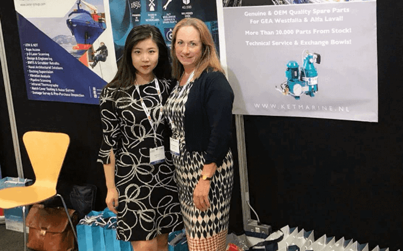 Keke and Marie at Impa 2018